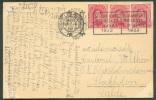 Belgium - N°138(3) Obl. Mécanique BRUXELLES 1 /3ème Foire Commerciale 3-19 Avril 1922 S/C.V. Du 12-IV-1922 Vers Stockhol - Organisaties