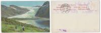 Norway Svartisen LITHO Signed Wilh. Peters Sent 1907 (Kristinias Lit. Aktiebolag) - Norwegen