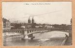 CPA  MELUN   Pont De Fer (Pont Aux Moulins)  (David 3 S) - Melun