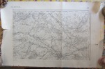 Carte D' Etat Major CHALONS, 1889. Athis, Tauxières, Billy, Vraux, L'Epine, La Cheppe, Vadenay, Bouy - Carte Topografiche