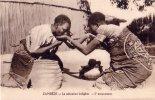 LOT DE 2 CPA Carte Postale Ancienne AFRIQUE MOZAMBIQUE ZAMBEZE Salutation Indigène Mouvement - Mozambique