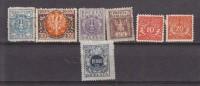 POLOGNE - Collection De 7 TP Différents - Poste Et Taxe   - Tous N* Ou (N) - Collections