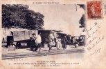 CPA Carte Postale Ancienne AFRIQUE OCCIDENTALE GAMBIE Boutique Détail MARCHE Market Animée 1915 - Gambie