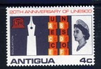 ANTIGUA - 1966 UNESCO 4c STAMP FINE MINT MM - Antigua & Barbuda (...-1981)