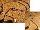 JOLI COLLIER PERLES TOI & MOI❀CHAîNE MAILLES VéNITIENNES❀ARGENT - Necklaces/Chains