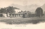 LA ROCHE-SUR-FORON LA GARE TRIN LOCOMOTIVE 1900 HAUTE-SAVOIE 74 - La Roche-sur-Foron