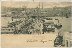 Constantinople    Pont Neuf Et Stamboulm 15020 Rommler Jonas 1901  P. U Turkey Pera - Turquie