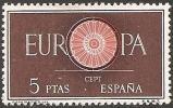1960-ED. 1295-VALOR CLAVE-TEMA EUROPA-NUEVO - 1931-Hoy: 2ª República - ... Juan Carlos I