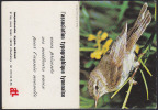 CALENDRIER 1978 - Oiseau Rossignol - Calendar With Song Bird - Kalender Vogel - 01 - Kalender
