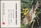 CALENDRIER 1978 - Oiseau Rossignol - Calendar With Song Bird - Kalender Vogel - 01