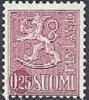 Finland 1963 0.25mk Leeuwentype Lila PF-MNH-NEUF - Finland