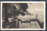 Vaud, P - Les Rives De Prangins, Le Port De Sans-Souci, Barques, Animée, Cygnes, - VD Vaud