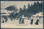 Hauts De Montreux - Clarens, Patinage De Caux, Animée, - VD Vaud