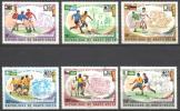Obervolta / Upper Volta - Mi-Nr 524/529 Gestempelt / Used (p045) - Obervolta (1958-1984)