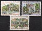 1982 Repubblica Ville D'Italia 3 N.1610-12 TIMBRATI Used - 1946-.. Republiek