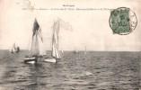 22 BINIC REGATES ARRIVEE DES 1 ER PRIX BATEAUX SABLIERS ET DE PLAISANCE VOYAGEE 1920 - Binic