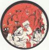 SFAR / TRONDHEIM / YOANN. Sous-bock Pub, Série DONJON. 20 BD à Consommer Avec Modération. 2003 Ed. Delcourt. - Objets Publicitaires