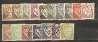 PORTUGAL - 1931+ LUSIAD ASSORTMENT To 5E USED (17 VALUES) - 1910-... Republic
