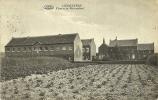 Liedekerke Klooster En Meisjesschool Gelopen Kaart 1921 Groene Achterzijde - Liedekerke