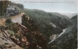 CAPE HORN AND AMERICAN RIVER  1735 OGDEN ROUTE S P R R  CALIFORNIA 1910 (TRAIN CIRCULANT) - Etats-Unis