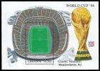 Soccer Fussball Football Ghana Bl 259 1994 World Cup In USA MNH ** - Coupe Du Monde