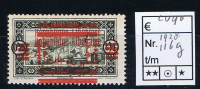 Rep. Libanaise 1928: Maury 116 G Yv 119 C Surcharge Doublé , Neuf**/MNH - Great Lebanon (1924-1945)