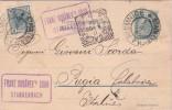 AUTRICHE-JILEMNICE STARKENBACH 7-3-1904 POUR L'ITALIE. - Enteros Postales