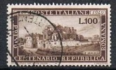 Italien, 1949, Repubblica Romana 100 Lire, MiNr. 773 Gestempelt (a010304) - 6. 1946-.. Republic