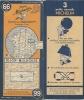 CARTE-ROUTIERE-MICHELIN-1     949-N°  66-DIJON-MULHOUSE-PA S  DECHIREE-TBE - Cartes Routières