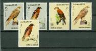 Umm Al Qiwain 1968,5V, Bird,birds,vogels,oiseaux, Part Set,MNH/postfris(D1114) - Vogels
