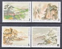 Rep. Of China 2322-5   **  POETRY  PAINTINGS - 1945-... Republic Of China
