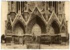 51  REIMS  -  CPM 1940  -  CHAMPAGNE POMMERY ET GRENO  -  LA CATHEDRALE DE REIMS AVANT LA GUERRE  -  LE GRAND PORTAIL - Reims