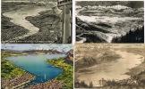 -SUISSE - LAC LEMAN -LOT  De  6 Cartes Géographiques Anciennes - Toutes Scannées Dont 4 écrites - TBE - Postcards