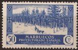 MA156-LA978TV-CG.Marruecos .Maroc.Marocco.MARRUECOS ESPAÑOL VISTAS Y PAISAJES 1935/7.(Ed 156**)  Sin Charnela LUJO RAR - Árboles
