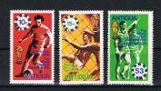 Antigua 1978 - Fußball WM - Mi.Nr.513-15 ** - Antigua Und Barbuda (1981-...)