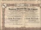BANQUE FRANCAISE DE CHILI - Banque & Assurance