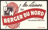 BUVARD LAINE Du BERGER Du NORD  TOURCOING Buvard Extra - Buvards, Protège-cahiers Illustrés