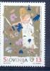 SI 1995-109 50A°END II WORLD WAR, SLOVENIA, 1v, MNH - Militaria