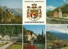 LIECHTENSTEIN.  VADUZ  -  Chateau Armoiries De L'Etat - Maison Rouge - Centre - Gouvernement - Vue Générale. - Liechtenstein