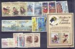 Norfolk Island-1990 Year  ASC 469-488ms, 19 Stamps + 1 MS   MNH - Norfolk Island