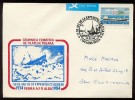 NORTH ARCTIC Pole Polar Mail Used Cover USSR RUSSIA Expedition Chelyuskin Romania Alba - Unclassified
