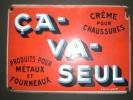 Lot 689: Plaque Publicitaire émaillée 34.6x24.6cm Pour Poids 1kg - Ohne Zuordnung