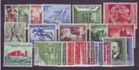 352m: DR- Ostmark 1940 Mit Falz, Komplettjahrgang Mit Einigen Postfrischen - 1918-1945 1. Republik