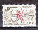 FRANCE / 1972 / Y&T N° 1705 ** : JO De Sapporo - Gomme D´origine Intacte - France