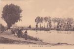 19107 SIN-LE-NOBLE (59 France) - Le Vivier La Peche - 4 Carpentier  -pecheur