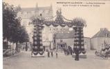 19117 Besançon Bains, Fetes Présidentielles 1910, Arc Triomphe Brasserie Sochaux . IPM Paris Biere