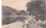 19121  Le Cher à Lavault-Ste-Anne  éd ?? Opticien MONTLUCON - Lavandiere