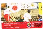 TURCHIA  (TURKEY)  -  TURKCELL  (GSM RECHARGE) - FOOTBALL: WORLD CUP 2002 (TURKEY 1 JAPAN 0)   -  USED  - RIF. 4606 - Turchia