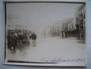 LIEGE - Photo - Inondations 1926 - Bd De La Sauvenière - Grand Café Vénitien - Cinéma Colysée - Liege