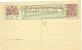 NETHERLANDS 1924 7 1/2c On 5c OUTWARD POSTCARD, H & G 169, UNUSED. - Postwaardestukken